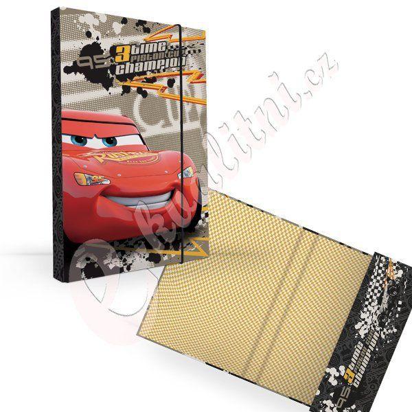 Desky na sešity CARS > varianta A5 Karton P+P