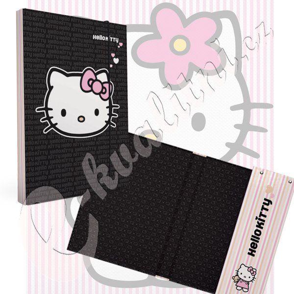 Desky na sešity HELLO KITTY black A5 Karton P+P