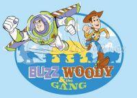 Dětský koberec 95x133cm Toy Story Woody & Gang > 95x133cm