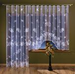 Hotová žakárová záclona JULIE 180x370 cm