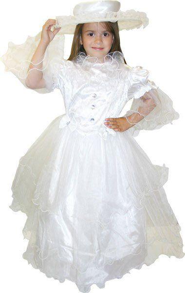 Karnevalový kostým NEVĚSTA > vel.S 100-116cm,věk 4-6 let