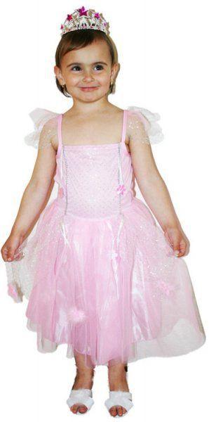 Karnevalový kostým Princezna > S: věk 4-6 let 100-116cm