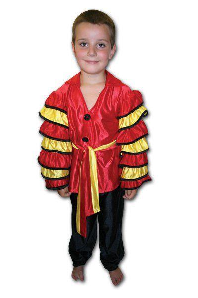 Karnevalový kostým tanečník latino > vel. M do 136 cm (6-8 let)
