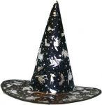 Látkový čarodějnický klobouk