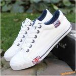 Luxusně provedené bílé tenisky > 42