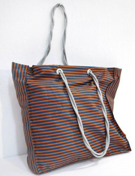 Nákupní taška proužky 37x37cm
