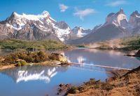 Puzzle 1000 dílků Torres del Paine, Patagonia, Chile