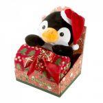 Dárková sada GIFT č.1 90X75 - Tučňák vánoční