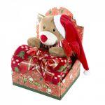 Dárková sada GIFT č.2 90X75 - Míša vánoční