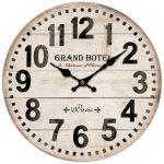 Nástěnné hodiny Grand hotel kopie