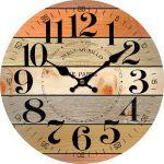 Dekorační hodiny nástěnné 28 rue murillo