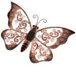 Kovový motýl led Solar