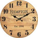 Kuchyňské hodiny na zeď Hampton