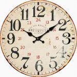 Nástěnné hodiny Antiquité