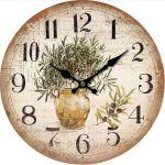 Nástěnné hodiny Oliva