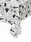 Teflonový ubrus PŘÍBORY   100x100, 110x155, 120x120, 120x140, 120x155, 130x130, 130x155, 140x140, 140x180, 140x180 ovál, 140x200, 140x220, 140x220 ovál, 150x240, 150x240 ovál, 155x155, 30x40, 40x110, 40x40, 45x140, 50x50, 75x75, 78x78, průměr 120, průměr 130, průměr 140, průměr 150, průměr 155
