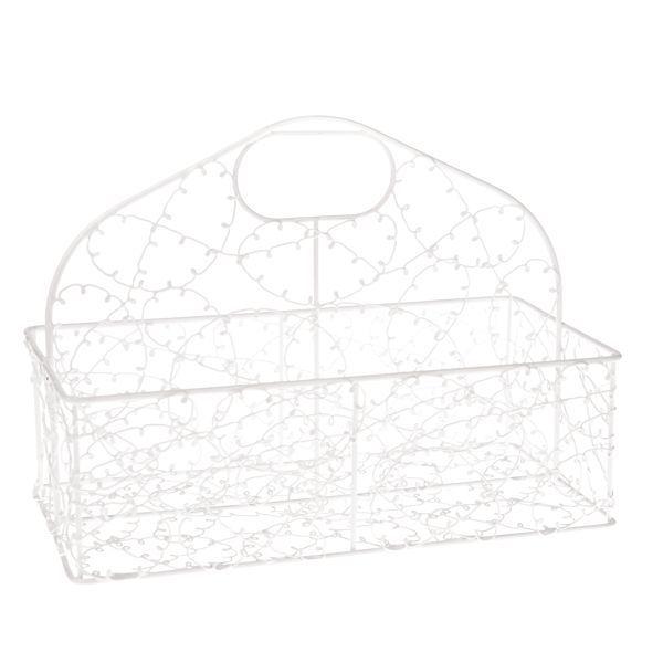Kovový drátěný košík na dopisy