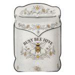Plechová retro poštovní schránka se včelou Bee Hive