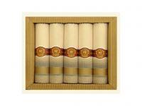 Luxusní pánské látkové kapesníky Mileta Doutník 5ks