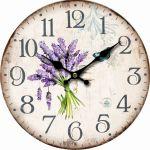 Nástěnné hodiny Motýl