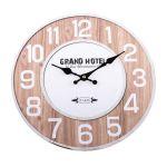 Nástěnné retro hodiny Grand hotel Paris