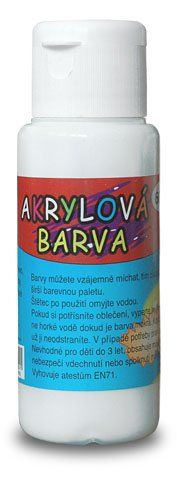 Akrylová barva 60 ml ČESKÝ VÝROBEK