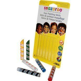 Barvy na obličej Tužky na obličej TYGR Snazaroo