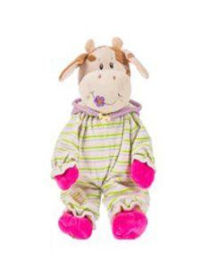 27.Dětský plyšák Baby kravička - ve spodničce 28cm