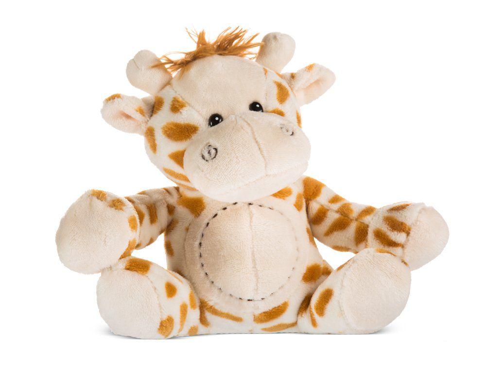35.Dětský plyšák Zvířátka SAFARI - Žirafka 21,5cm