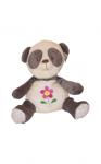 Dětský plyšák Duhové plyšáčky- panda- 25 cm