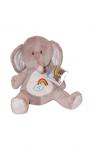 Dětský plyšák Duhové plyšáčky- sloník- 25 cm