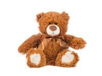 Dětský plyšák Medvídek Adam - tmavý 30cm