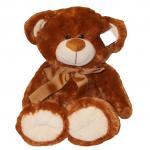 Dětský plyšák Medvídek Štěpán - Hnědý, 36 cm