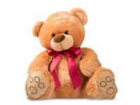 Dětský plyšák Medvídek Vincent - sedící,Béžový, 40 cm