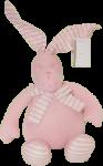Dětský plyšák Zajíc Dan- růžový, 31 cm