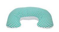 Kojící polštář/podkova z polystyrenových kuliček kolekce Simple - máta