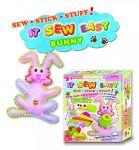 Filcový Bunny učení šití pro holčičky IT SEW EASY