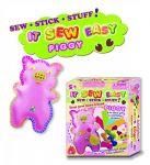 Filcový Piggy učení šití pro holčičky IT SEW EASY