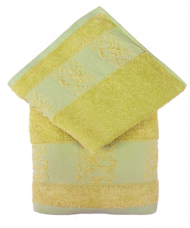 Bamboo ručník ANKARA 70x140 - sv. zelená