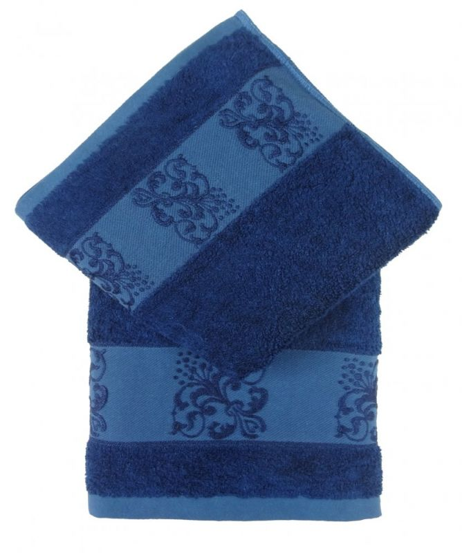 Bamboo ručník ANKARA 70x140 - tm. modrá