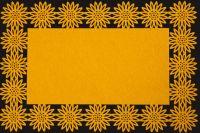 Filcové prostírání  NELLY -sv. pomeranč 30x120
