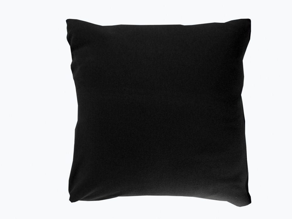 Dekorační povlak na polštářky 40x40 JERSEY -42 černá EUROFIRANY