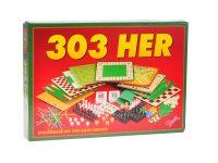 Společenská hra 303 her v krabičce