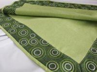 Ubrus  č.39029 barva zelená -  40x140